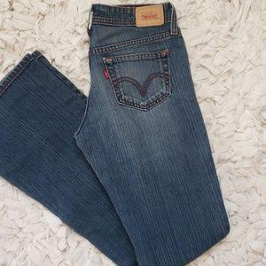 Levis bootcut jeans size 3 long